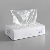 LK Packaging 10 3/4 inch x 8 inch Plastic Deli Wrap and Bakery Wrap