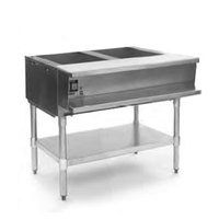 Eagle Group AWT2 Two Pan Water Bath Gas Steam Table - Sealed Well
