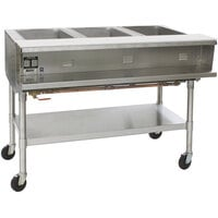 Eagle Group SPHT4 Portable Steam Table - Four Pan - Sealed Well