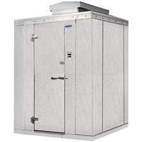 Nor-Lake Kold Locker 6' x 6' x 7' 7 inch Outdoor Walk-In Freezer with Floor