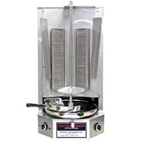 Optimal Automatics G-300 Autodoner 45 lb. Vertical Broiler - Gas