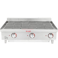 Star-Max 5136CF 36 inch Electric Charbroiler 9000W