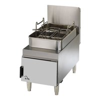 Star Max 615FF 15 lb. Gas Countertop Fryer - 30,000 BTU