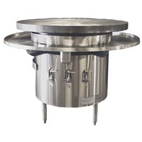 Town MBR-42 42 inch Flat Top Mongolian Barbeque Range