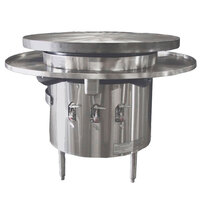 Town MBR-48 48 inch Flat Top Mongolian Barbeque Range