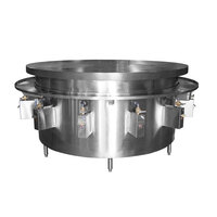 Town MBR-60 60 inch Flat Top Mongolian Barbeque Range