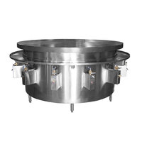 Town MBR-72 72 inch Flat Top Mongolian Barbeque Range