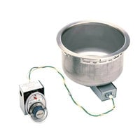 Wells SS8 7 Qt. Round Drop-In Soup Well - Top Mount, Infinite Control