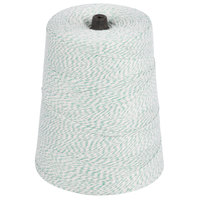 Green and White Variegated Polyester Cotton Blend Baker's Twine 2 lb. Cone
