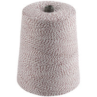 Brown and White Variegated Cotton Baker's Twine 2 lb. Cone