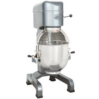 Avantco MX40 40 Qt. Gear-Driven Commercial Planetary Floor Mixer with Stainless Steel Bowl Guard - 240V, 2 hp