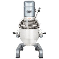 Avantco MX30 30 Qt. Gear Driven Commercial Planetary Floor Mixer with Stainless Steel Bowl Guard