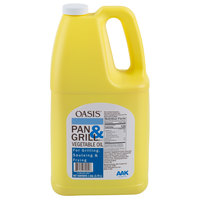 Oasis 1 Gallon Pan & Grill Cooking Oil - 6/Case