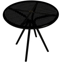 American Tables and Seating AB30 30 inch Black Round Outdoor Table