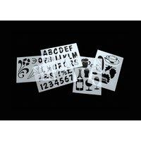 American Metalcraft SECSTN5 Stencil Set - 9 inch x 13 inch