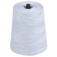 Blue and White Variegated Polyester Cotton Blend Baker's Twine 2 lb. Cone