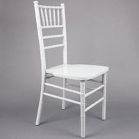 Lancaster Table & Seating White Chiavari Chair