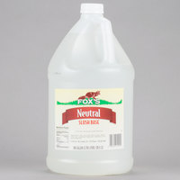 Fox's 1 Gallon Neutral Slush Syrup   - 4/Case