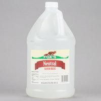 Fox's 1 Gallon Neutral Slush Syrup - 4/Case
