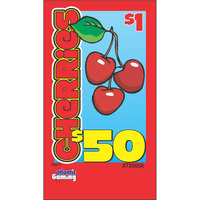 Cherries 1 Window Pull Tab Tickets - 120 Tickets Per Deal - Total Payout: $78
