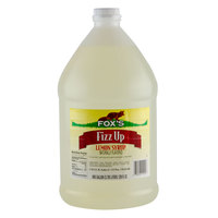 Fox's 1 Gallon Fizz Up Lemon Syrup   - 4/Case