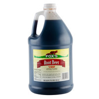Fox's 1 Gallon Root Beer Syrup - 4/Case