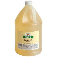 Fox's 1 Gallon Light Vanilla Syrup   - 4/Case