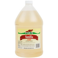 Fox's 1 Gallon Light Vanilla Syrup - 4/Case