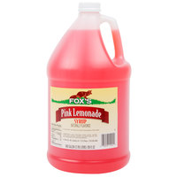 Fox's 1 Gallon Pink Lemonade Syrup   - 4/Case