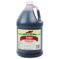 Fox's 1 Gallon Grape Syrup   - 4/Case