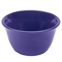 Thunder Group CR303BU 7 oz. Purple Smooth Melamine Bouillon Cup - 12/Case