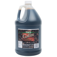 Fox's 1 Gallon Coffee Syrup   - 4/Case
