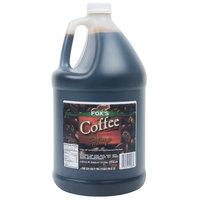 Fox's 1 Gallon Coffee Syrup - 4/Case