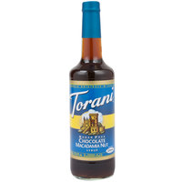 Torani 750 mL Sugar Free Chocolate Macadamia Nut Flavoring Syrup