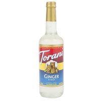Torani 750 mL Ginger Flavoring Syrup