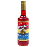 Torani 750 mL Pomegranate Flavoring / Fruit Syrup