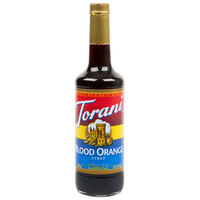 Torani 750 mL Blood Orange Flavoring / Fruit Syrup
