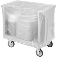 Cambro TDC30C000 Vinyl Tray and Dish Cart Cover for TDC30