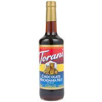Torani 750 mL Chocolate Macadamia Nut Flavoring Syrup