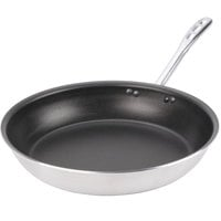 Vollrath 67954 Wear-Ever 14 inch Non-Stick Fry Pan with CeramiGuard II and TriVent Chrome Plated Handle