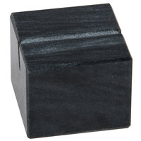 American Metalcraft MCHB125 1 inch Black Marble Card Holder