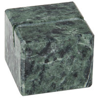 American Metalcraft MCHG125 1 inch Green Marble Card Holder