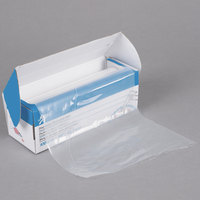 Ateco 4718 18 inch High-Grip Clear Disposable Pastry Bags - 100/Roll