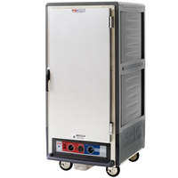 Metro C537-MFS-L-GY C5 3 Series Heated Holding and Proofing Cabinet with Solid Door - Gray