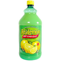 ReaLemon 48 oz. 100% Lemon Juice - 8/Case