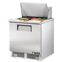 True TFP-32-12M 32 inch 1 Door Mega Top Refrigerated Sandwich Prep Table