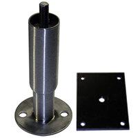 True 959432 6 inch Seismic Leg Kit with Brackets - 6/Case