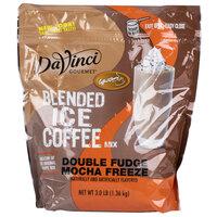 DaVinci Gourmet Ready to Use Double Fudge Mocha Freeze Mix - 3 lb.