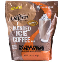 DaVinci Gourmet 3 lb. Ready to Use Double Fudge Mocha Freeze Mix