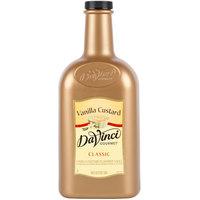 DaVinci Gourmet 1/2 Gallon Vanilla Custard Flavoring Sauce
